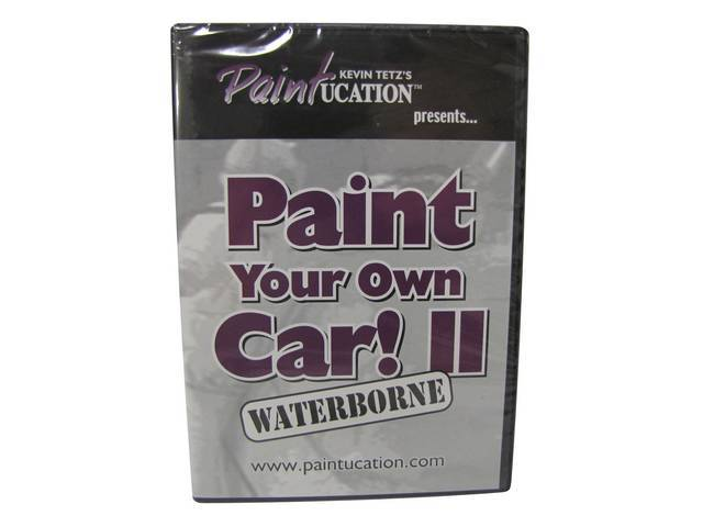 DVD, PAINTUCATION  PAINT YOUR OWN CAR