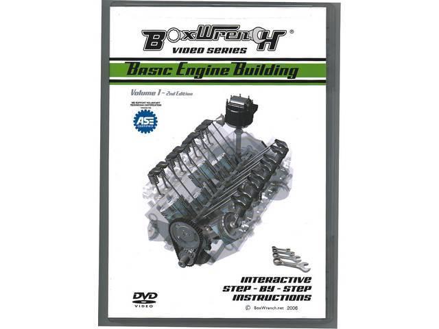 DVD, BOXWRENCH, BASIC ENGINE REBUILDING, AMERICAN V8, 2ND