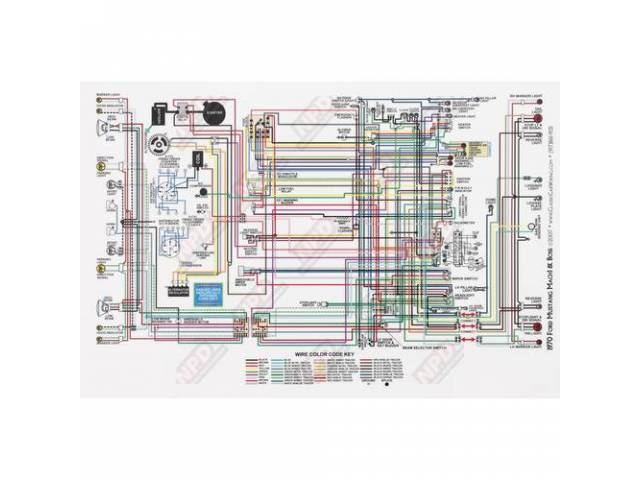 Wiring Diagram 70 Mat Full Color 17 1  2