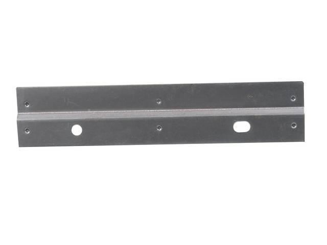 Retainer, Rocker Panel, Lower, Zinc Plated, Exact Repro