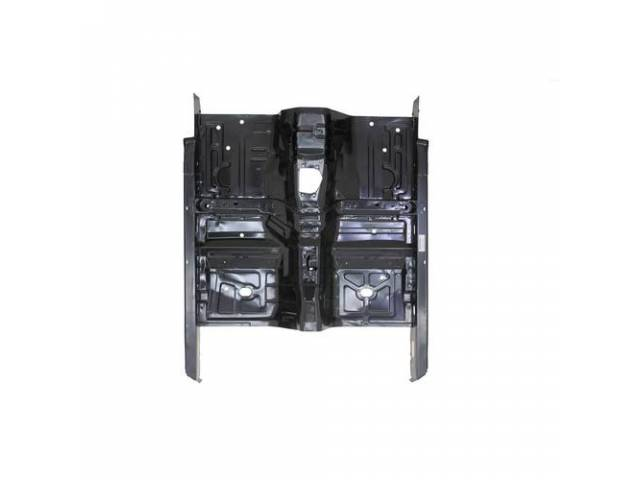 Floor Pan, Full, Complete Pan Includes Tunnel As