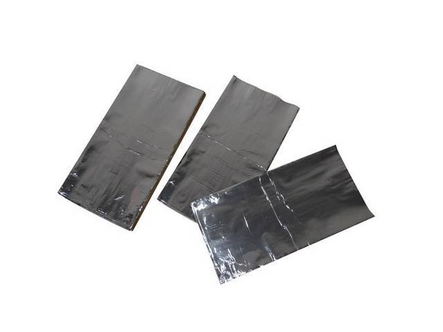 Floor Pan Kit, Hushmat, Silver Backing, Self Adhesive