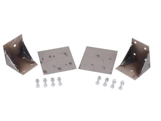Reinforcement Kit, Rear Torque Box, Lower,  Designed