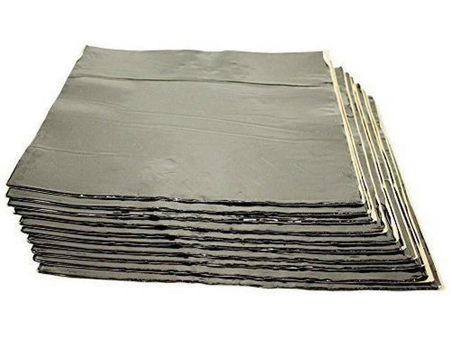 Trunk Pan Kit, Hushmat, Silver Backing, Self Adhesive
