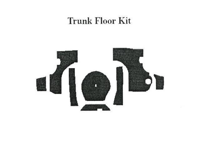 Trunk Floor Kit, Acousti Shield, Quite Ride Solutions,