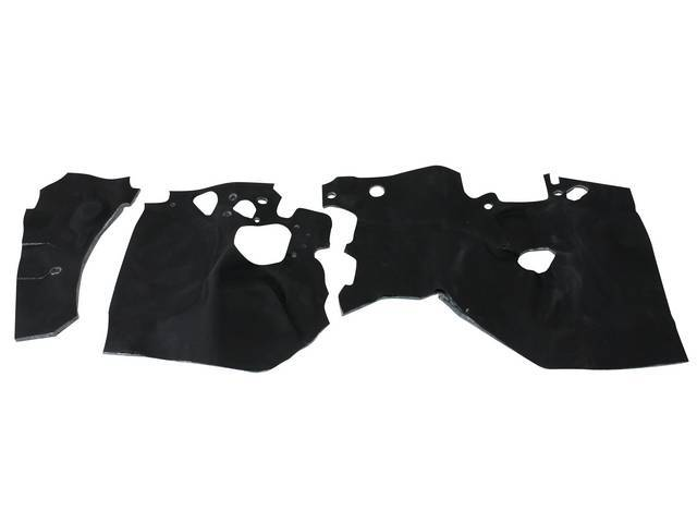 Firewall Insulation Pad Kit, Replacement Style, Incl Replacement