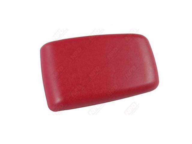 Door, Console Panel Glove Compartment, Scarlet Red, Exact