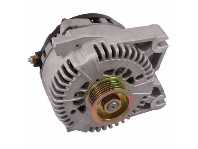 Alternator Assy New 130 Amp Incl Pulley Voltage