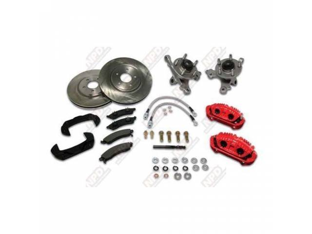 Disc To Disc Kit Front 5 Lug Ssbc