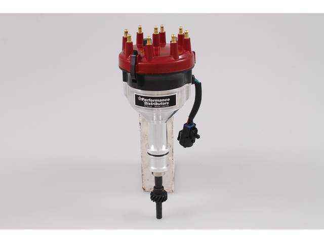 Distributor, Performance Distributor, Red Cap, Hot Forged Design,