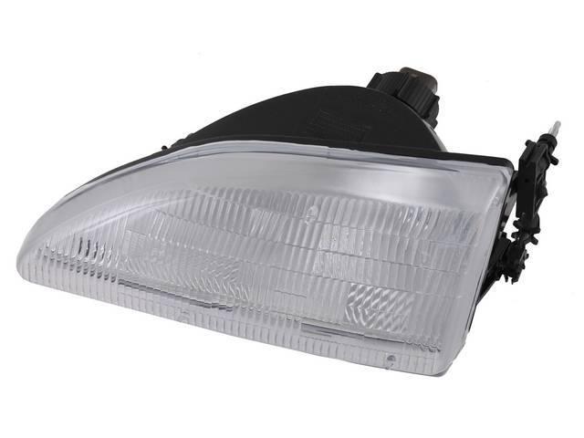 Head Light Assy, Lh, Incl Bulbs, Retainer Rings,