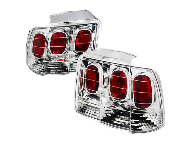 Tail Light Set, Altezza Style, Clear Lens W/
