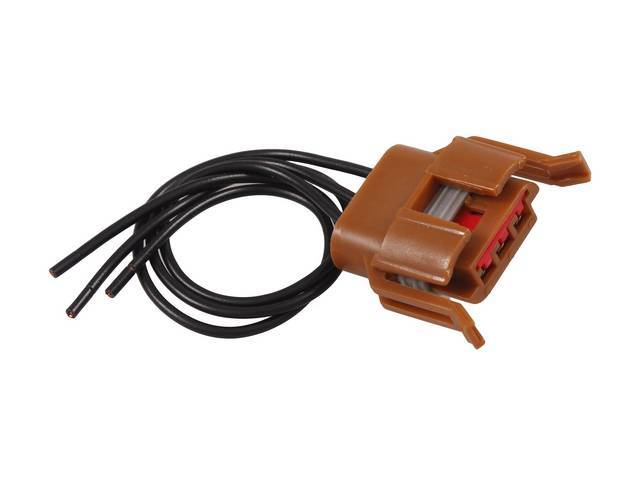 Repair Harness, Parking Light Socket, Brown Hardshell W/