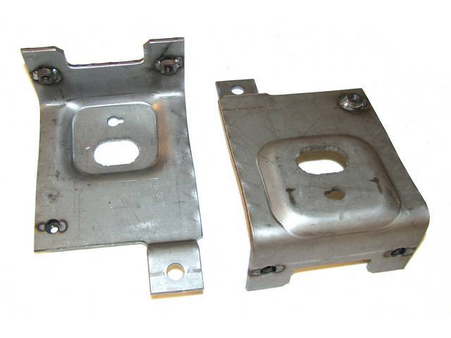Brackets, Fog Light Mounting, Repro, Incl Rh And