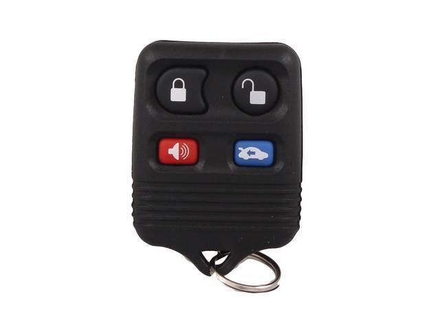TRANSMITTER HAND HELD ALARM AND LOCK SYSTEM BLACK