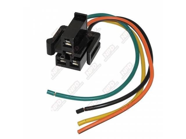Repair Harness, A/C Blower Motor Resistor, *** Go