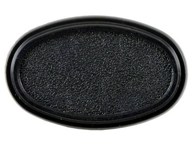 Stanchion, Radio Antenna, Black, Molded Plastic, Oe Style,