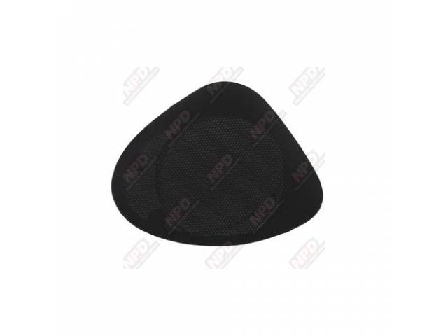 GRILLE ASSY RADIO SPEAKER REAR LOWER BLACK CLOTH