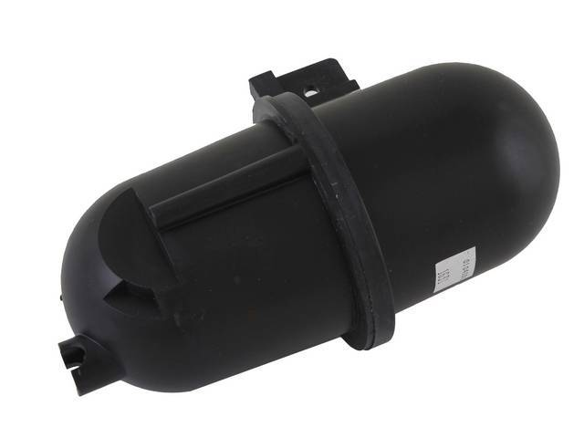 Tank And Bracket, A/C Vacuum Reservoir, Original Prior Part Number F4zz-19a566-A, Xr3z-19a566-Aa