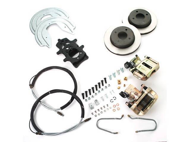 SSBC USA Rear Disc Brake Conversion Kit 79-86 (STD Rotors/STD Calipers)