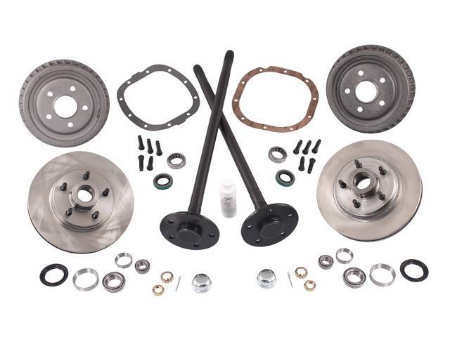 Complete Kit, 5 Lug Conversion, Street Bandit, 31 Spline Axles, This Kit Is Designed To Give All The Components Needed For The Conversion
