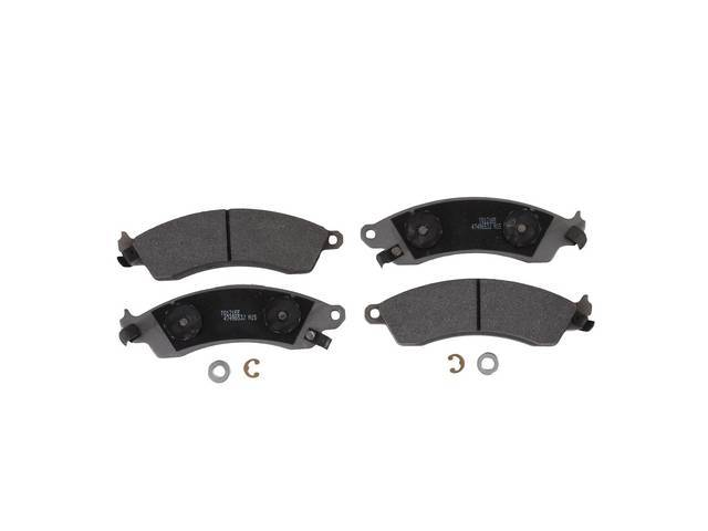 PAD SET FRONT DISC SEMI METALLIC REPRO Ford