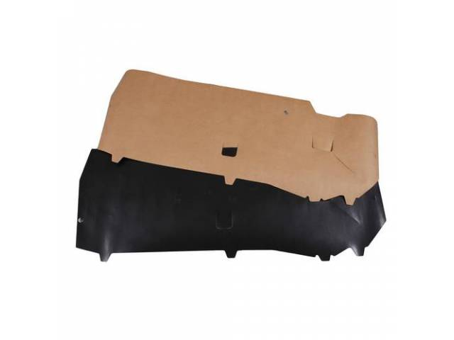 Watershields, Door Trim, Paper Style, (2) Incl Rh And Lh Side, Designed To Seal Out Moisture And Protect Door Panels, Adhere With 3m8509 Compound
