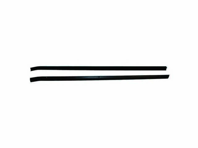 Weatherstrip, Front Door At Belt, Outside, Pair, E7zz-6121452-C, E7zz-6121453-C, E8zz-6121452-A, E8zz-6121453-A