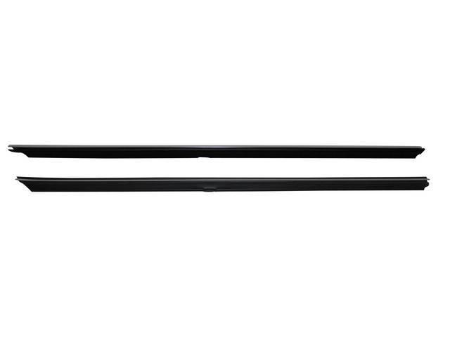 Weatherstrip, Door Belt, Inside, Pair, Repro