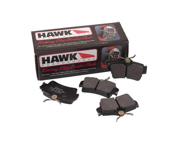 PAD SET REAR DISC HAWK PERFORMANCE HP PLUS