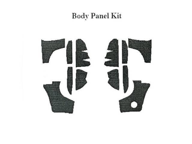 Body Panel Kit, Acousti Shield, Quite Ride Solutions,