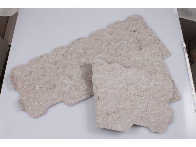 Insulation / Jute Pad, Door Panel, Pair, Incl Rh And Lh Side, Die Cut For Proper Installation, Designed To Reduce Road Noise