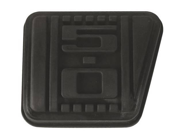 Pad, Brake Pedal, Repro, W/ *5.0* Logo In