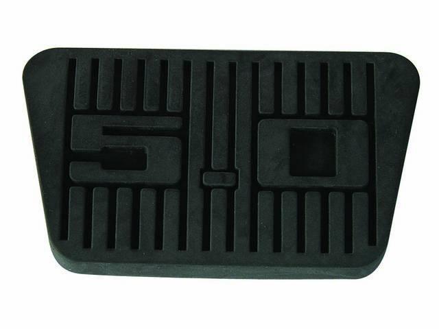 Pad, Brake Pedal, Repro, W/ *5.0* Logo In Center Of Pad