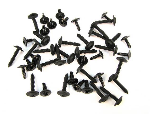 Mounting Kit, Gt Body Molding, Incl (42) Pieces,