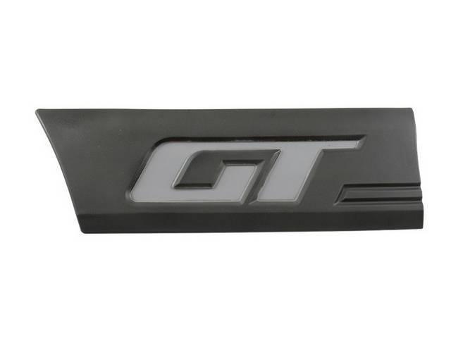 Molding, Quarter, Front, Rh, Charcoal, W/ Gray, *Gt*,