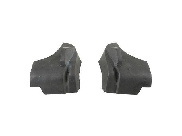 Seals, Rear Quarter Window Lower, Incl Lh And
