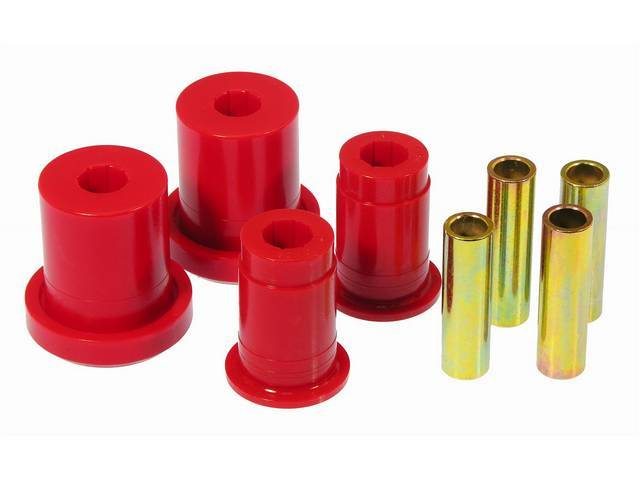 BUSHING KIT FRONT LOWER CONTROL ARM PROTHANE RED