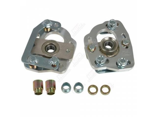 Adjusting Plates, Front Suspension Camber, Steeda, Aluminum, These