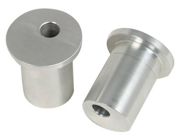 Bushings, Rack, Steeda, Aluminum, .25 Inch Offset, Incl