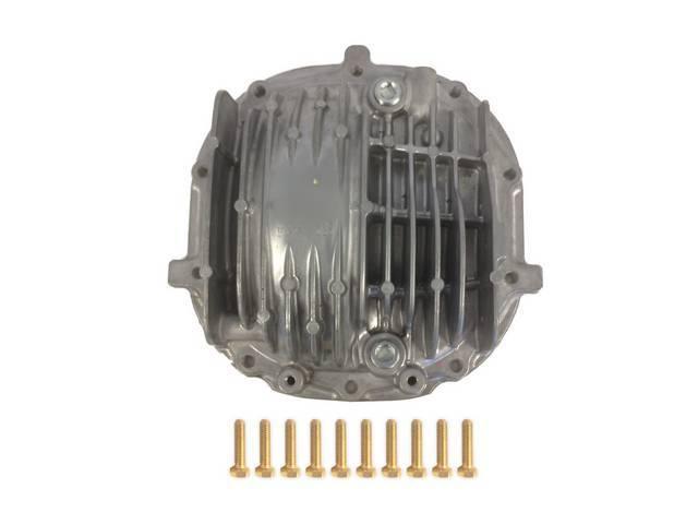 STEEDA Finned 8.8 Differential Cover w/ Fill & Drain Plugs for 86-04