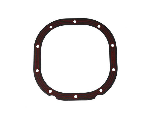 Gasket, Rear Axle Cover, Lube Locker, Designed With