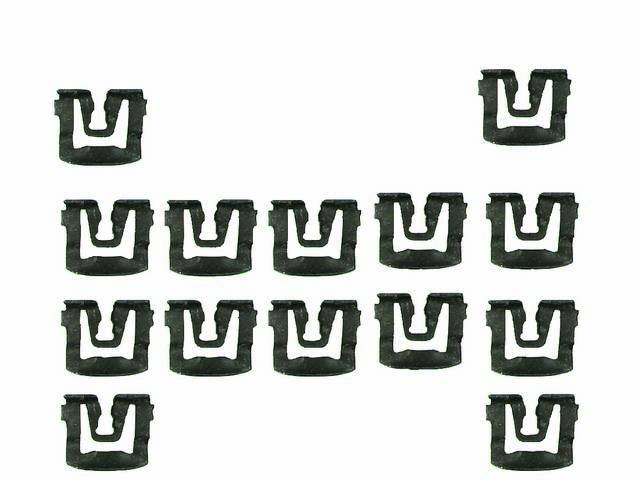 Rear Window Molding Clip Kit for Coupe Models