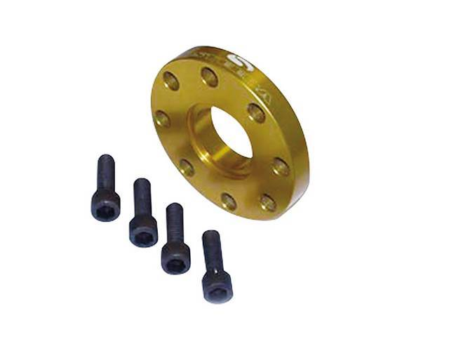 Spacer, Driveshaft, Steeda, Aluminum, Incl Correct Spacer And