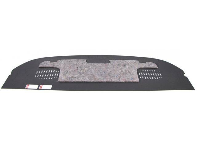 Absorber, Rear Seat To Trunk Sound, Incl Panel