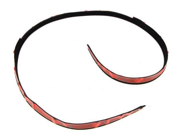 Weatherstrip, T-Roof Opening Glass, Repro, E1zz-6650080-A