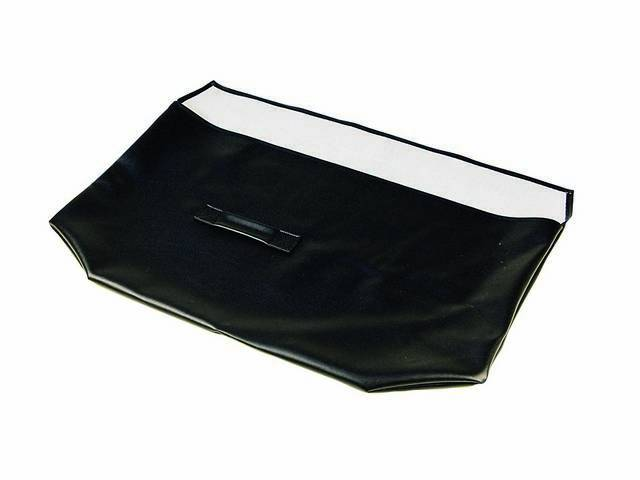 Container, Glass Roof Panel Stowage, Black, Repro