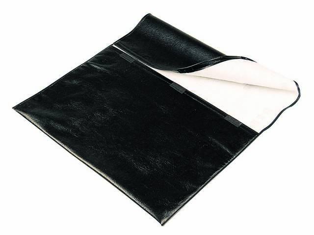 Container, Glass Roof Panel Stowage, Pair, Black, Repro