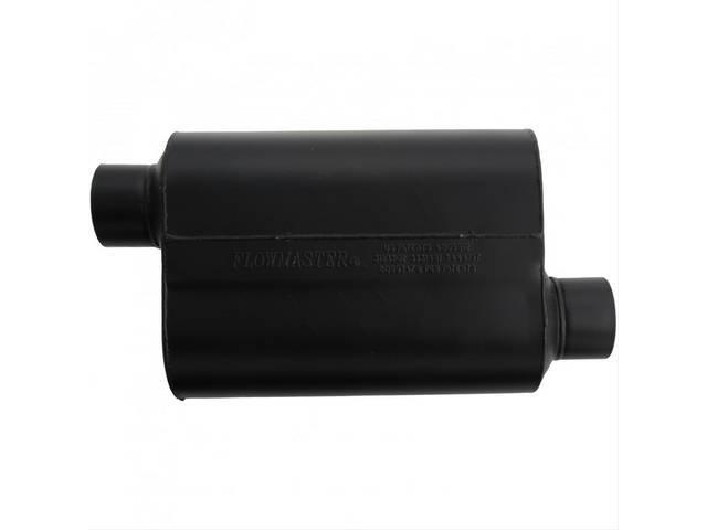 Muffler, Flowmaster, Delta Flow Super 40 Series, Aluminized
