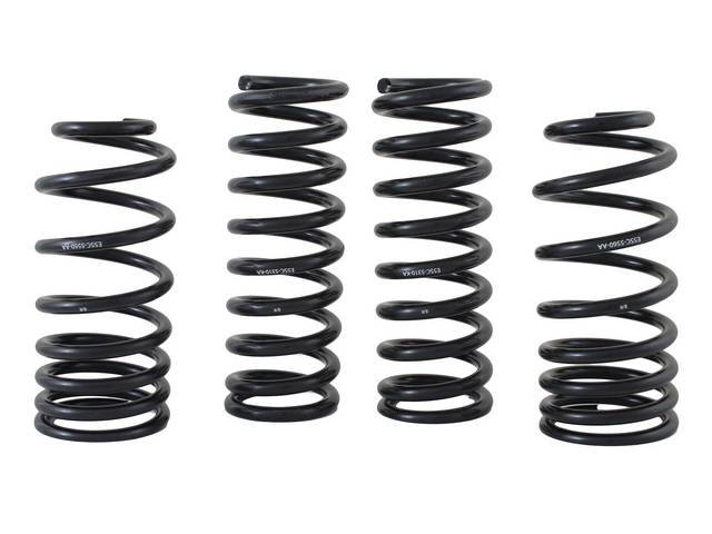 COIL SPRING SET PROGRESSIVE RATE FORD RACING 425/530